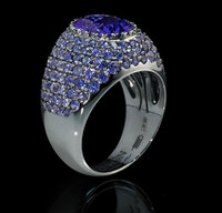 Mousson Atelier Riviera Gold Tanzanite Ring R0072-0/4