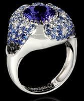 Mousson Atelier Riviera Gold Tanzanite Ring R0206-0/1