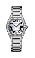 Cartier Tortue Small (WG Diamonds/ Silver/WG)