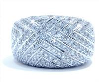 3.00 cttw Diamond Ring In 18k White Gold