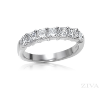 Ziva Square Diamond Anniversary Band