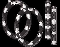 Van Der Bauwede 18K WG Snake Hoop Earrings 00205
