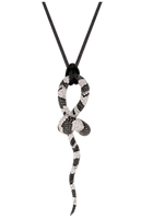 Van Der Bauwede 18k WG Sapphire & Diamond Snake Pendant 00175