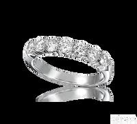 Ziva One Carat Diamond Wedding Band