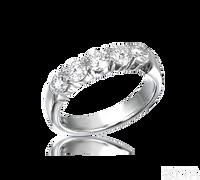 Ziva One Carat Diamond Anniversary Band
