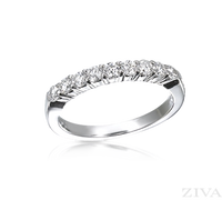 Ziva 1/2 Carat Diamond Wedding Band
