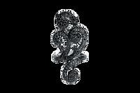 Van Der Bauwede 18K WG & Black Rhodium Sweetheart Diamond Ring 00530