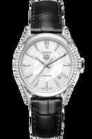 TAG Heuer Carrera 5 Diamond Case,Dial & Bezel Automatic Watch 33mm HEU0340600