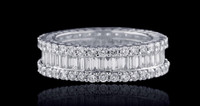 1.65 Carat G/VS Diamond Eternity Band ADR10482