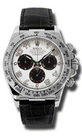 Rolex Daytona WG Leather116519WA