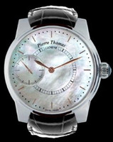 Pierre Thomas Geneve Grande Seconde Historical Mechanical Movement White Dial Watch PTGS9-2