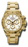 Rolex Daytona Yellow Gold Bracelet 116528WS