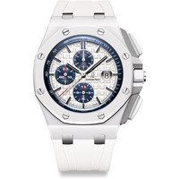 Audemars Piguet Royal Oak Offshore 44mm White Ceramic Watch 26402CB.OO.A010CA.01