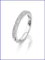 Gregorio 18K WG Diamond Wedding Band R-6451B