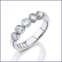 Gregorio 18K WG Diamond Ring R-0061