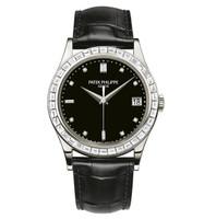 Patek Philippe Calatrava Automatic Diamonds Platinum Watch 5298P-010