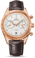 Omega Speedmaster 57 Omega Co-Axial Chronograph Red Gold