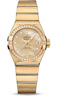 Omega Constellation Co-Axial 27 mm Yellow Gold 123.55.27.20.57.002