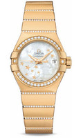 Omega Constellation Co-Axial 27 mm Yellow Gold 123.55.27.20.05.002