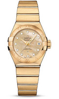 Omega Constellation Co-Axial 27 mm Yellow Gold 123.50.27.20.58.001