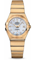 Omega Constellation Co-Axial 27 mm Yellow Gold 123.50.27.20.55.002