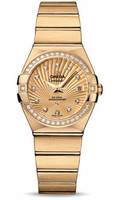 Omega Constellation Co-Axial 27 mm Yellow Gold 123.55.27.20.58.001