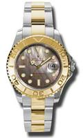Rolex Watches Yacht-Master Mid-Size Steel & Gold 168623DKM