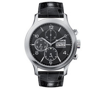 Pineider Automatic Chronograph with date watch black dial