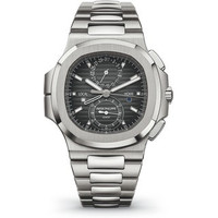 Patek Philippe Nautilus Travel Time Chronograph Ref 5990 Steel