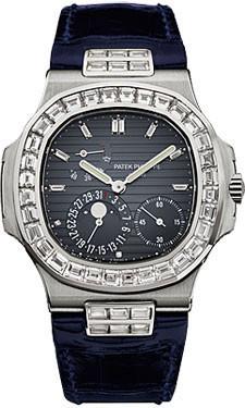 Patek Philippe Nautilus Mens WG Watch 5724G-001