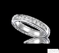 Ziva Diamond Wedding Band