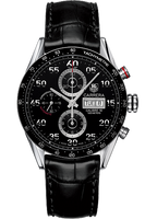 TAG Heuer Carrera Automatic Chronograph 43 mm with Black Aluminum HEU0169523