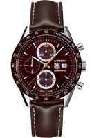 TAG Heuer Carrera Automatic Chronograph 41 mm with Brown Aluminum HEU0169535