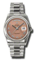 Rolex Day-Date President WG Domed Bezel President 118209CRP