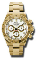 Rolex Daytona Yellow Gold Bracelet 116528WD