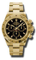 Rolex Daytona Yellow Gold Bracelet 116528BKS