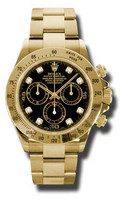 Rolex Daytona Yellow Gold Bracelet 116528BKD