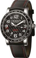 Graham Silverstone Time Zone Black Watch 2TZAS.B02A