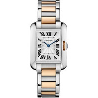Cartier Tank Anglaise Small Steel & Pink Gold WoWatch W5310019