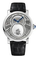 Cartier Rotonde Mysterious Double Tourbillon Platinum Watch W1556210