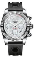 Breitling Chronomat 41 Steel Dia Bezel Ocean Racer Strap AB0140AA/A746