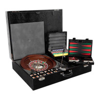 Underwood Gaming Set Roulette Black Jack Cards Backgammon