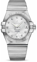 Omega Constellation Co-Axial 35 mm Brushed SS 123.10.35.20.52.001
