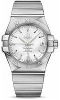 Omega Constellation Co-Axial 35 mm Brushed SS 123.10.35.20.02.001