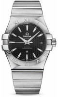 Omega Constellation Co-Axial 35 mm Brushed SS 123.10.35.20.01.002