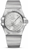 Omega Constellation Co-Axial 35 mm Brushed SS 123.10.35.20.52.002
