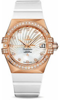 Omega Constellation Co-Axial 35 mm Brushed Red Gold 123.57.35.20.55.001