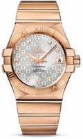 Omega Constellation Co-Axial 35 mm Brushed Red Gold 123.50.35.20.52.003
