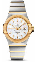 Omega Constellation Co-Axial 31 mm Brushed Steel & Yellow Gold 123.20.31.20.05.002