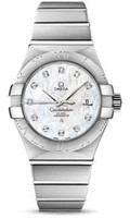 Omega Constellation Co-Axial 31 mm Brushed SS 123.10.31.20.55.001